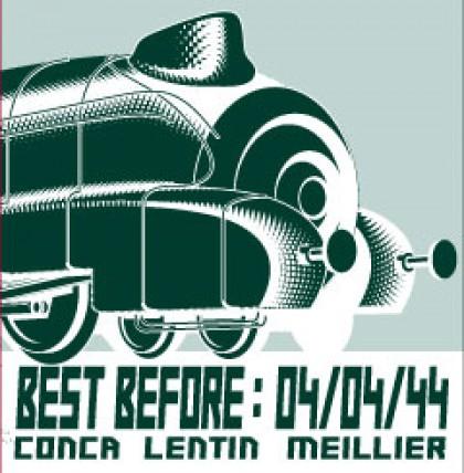 Pochette CD Best Before, graphisme, print