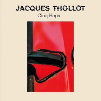 Pochette CD Jacques Thollot Cinq Hops, graphisme, print