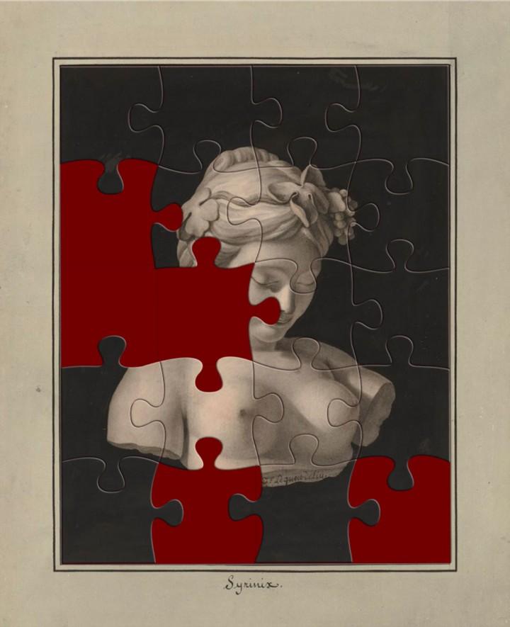 Puzzles Jean Jacques Lequeu, graphisme, developpement, web