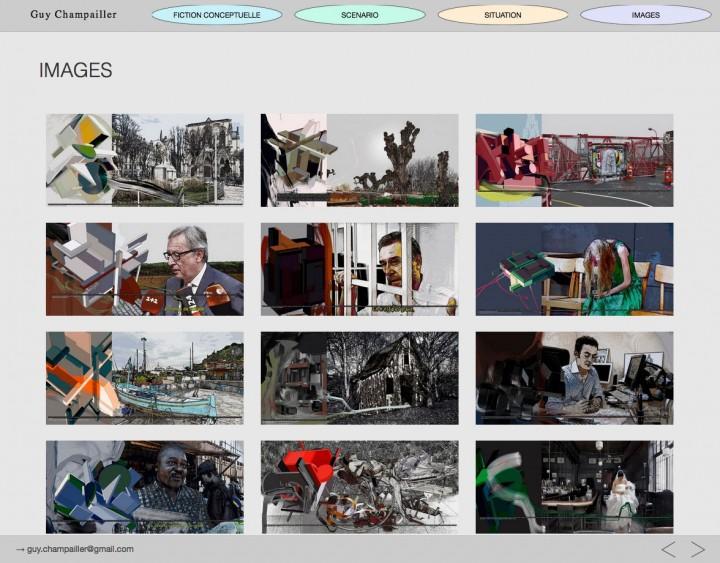 Site web champailler.fr, developpement, web