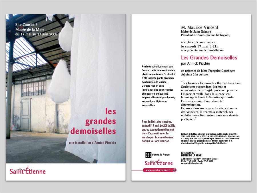print, graphisme, Graphisme et prépresse Musée de la mine de Saint-Etienne, Tchouk-Tchouk créations graphiques et sites web, Saint-Etienne