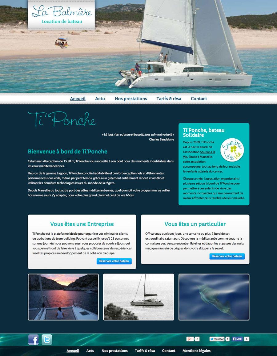 web, développement, Site web tiponche.fr, Tchouk-Tchouk prestation web